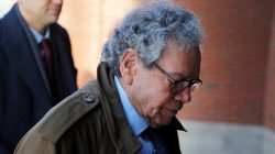 John Kapoor, the billionaire founder of Insys Therapeutics Inc, arrives at the federal courthouse for the first day of the trial accusing Insys executives of a wide-ranging scheme to bribe doctors to prescribe an addictive opioid medication, in Boston, Massachusetts, U.S., January 28, 2019. REUTERS/Brian Snyder