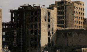 FILE PHOTO: Damaged buildings are seen in the Old City of Mosul, Iraq January 30, 2019. REUTERS/Ari Jalal/File Photo